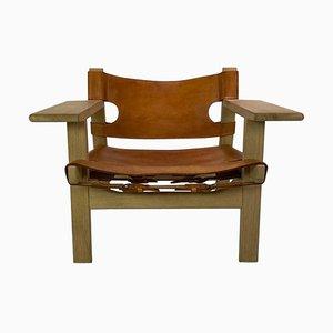 Chaise BM2226 par Børge Mogensen pour Fredericia, Espagne