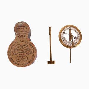 Sternförmige Uhr
