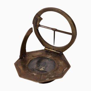 Equatorial Sundial with Compass