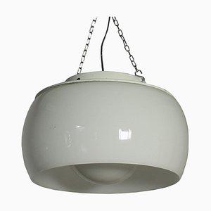 Omega Lampe aus emailliertem Metall & Glas von Vico Magistretti für Artemide, 1960er