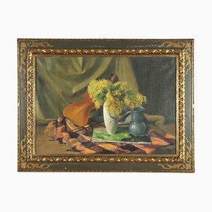 Walter Benoldis, óleo sobre lienzo