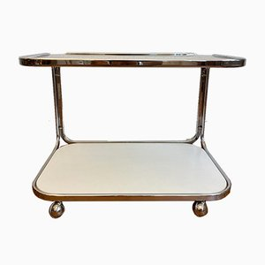 Side or Coffee Table on Wheels, 1970s