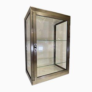 Vintage Industrial Polished Medical Cabinet