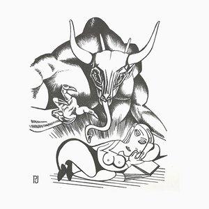 Pierre Jacob, Minotaure-Manga-a, 2021