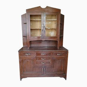 Vintage Plywood and Fir Sideboard, 1930s