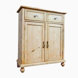 Brocante Pine Cabinet, 1920s