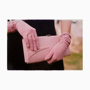 Pink Gloves, Goodwood, Chichester, Feminine Fashion, 2009, Color Photography