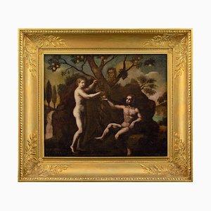 Scuola tedesca del XVI secolo, La caduta di Adamo