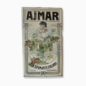 Cartel de Ajmar Gran Spumante Italia, años 10