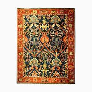 Großer antiker handgeknüpfter Azeri Teppich, 1980er