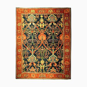 Large Antique Azeri Hand Knotted Rug, 1980s