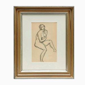 Andre Lhote, Disegno a matita, Incorniciato