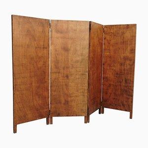 Rustikaler Raumteiler aus Holz, 1930er