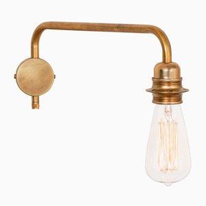 Lampada da parete Edison in ottone di Sabina Grubbeson per Konsthantverk
