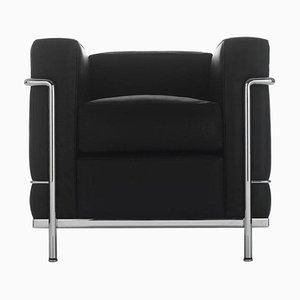 Fauteuil Lc2 Poltrona par Le Corbusier, Pierre Jeanneret & Charlotte Perriand pour Cassina