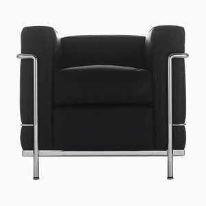 Lc2 Poltrona Armchair by Le Corbusier, Pierre Jeanneret & Charlotte Perriand for Cassina