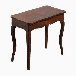 Small Vintage French Oak Coffee Table or Console