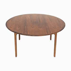 Danish Rosewood Coffee Table by Ole Wanscher for P. Jeppesens, 1950s