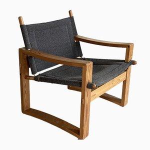 Safari Lounge Chair by Borge Jensen for Berndorffsminde, Denmark, 1960s