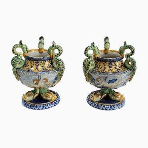 Tassen im Stil der Italienischen Renaissance, Frühes 20. Jh., 2er Set