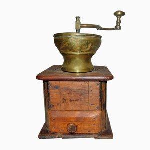 Vorkriegs Kaffee- und Pfeffermühle aus Holz
