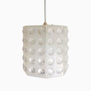 Dutch Mid-Century Modern Translucent Lucite Pendant Lamp by Aloys Gangkofner, 1970s