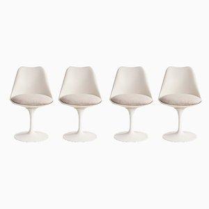 Tulip Chairs by Eero Saarinen for Knoll, Set of 4
