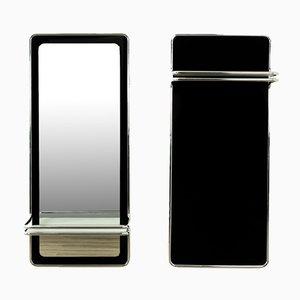 Garderoben mit Spiegel von Länko, 1970er, 2er Set