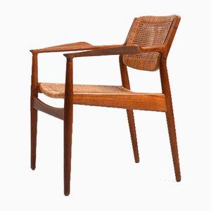 Teak Modell 51 Armlehnstuhl von Arne Vodder für Sibast