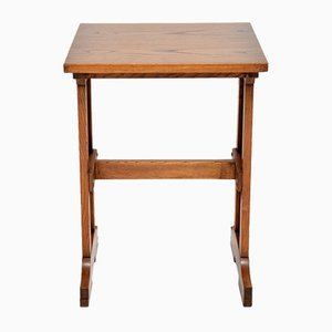 Antique Arts & Crafts Writing Table in Elm