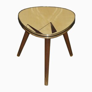 Two-Tone Flower Stool in Formica, 1960s