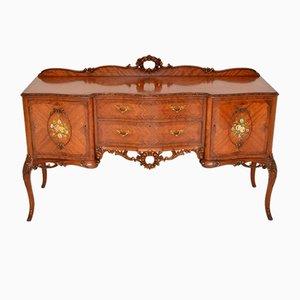 Antikes französisches King Wood Sideboard mit Intarsien