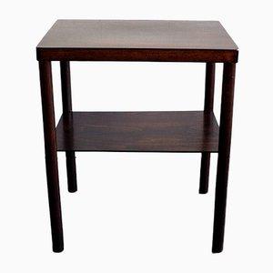 Czechoslovakian Art Deco Wooden Side Table, 1920s