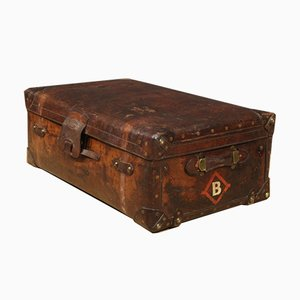 English Leather Suitcase from F. Best & Co.