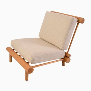 Les Arcs Lounge Chair by Charlotte Perriand