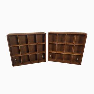 Scandinavian Miniature Shelves, Set of 2