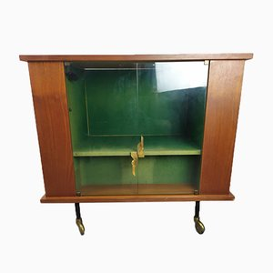 Vintage Scandinavian Bar Cabinet