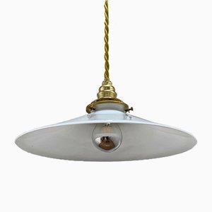 Opalglas Lampe