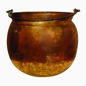 Pre-War Copper Flower Container