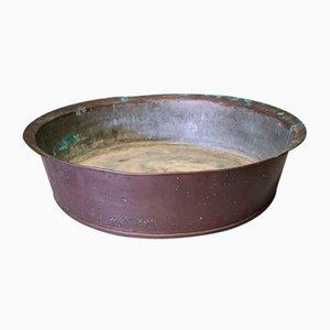 Vaso grande antico in rame, XIX secolo