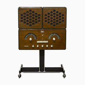 Radio RR126 de Achille & Pier Giacomo Castiglioni para Brionvega, años 60