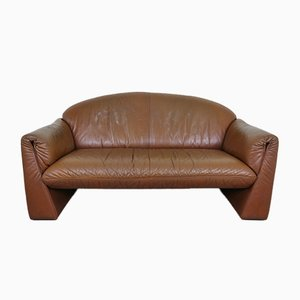2-Seater Leather Octanova Sofa by Peter Maly for Cor, Germany, 1980s