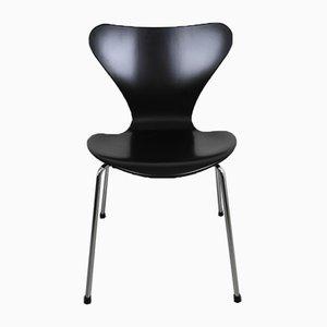 Chaise 3107 par Arne Jacobsen pour Fritz Hansen, Danemark, 1973