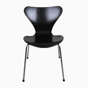 Sedia nr. 3107 di Arne Jacobsen per Fritz Hansen, Danimarca, 1973