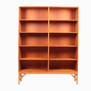 Dänisches Mid-Century Bücherregal aus Eiche von Børge Mogensen für FDB