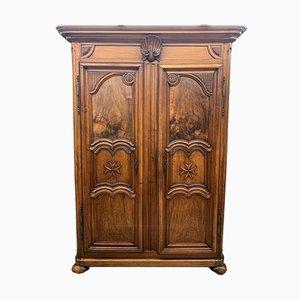 Lyon Cabinet Eighteenth Century in Solid Walnut