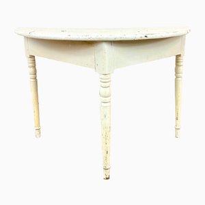 Antiker Halfmoon Tisch, Schweden, 1900er