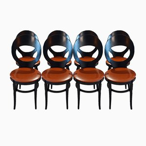 Mouette Esszimmerstühle von Baumann, 1970er, 8er Set