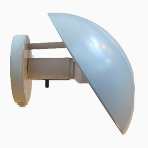 Weiße Vintage PH-Hat Wandlampe von Poul Henningsen für Louis Poulsen, 1970er
