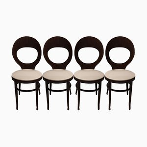 Mouette Dining Chairs from Baumann, 1970s, Set of 4